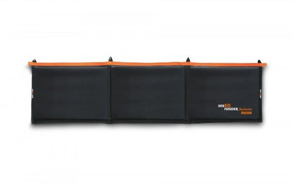 Langfender mit Protector Mat - Bootsfender, schwarz