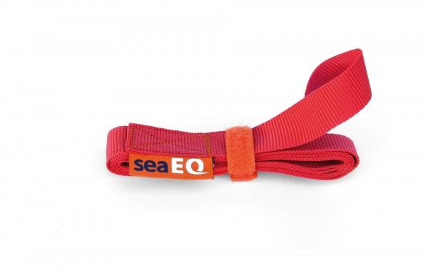 sail ties-flat webbing sail tie-SR 1600 red