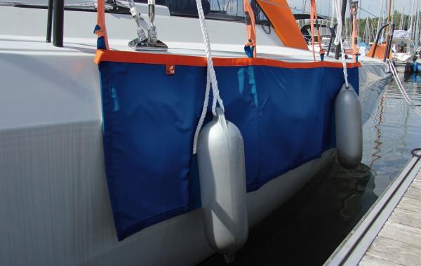 Flachfender-Fendermatte FPM blau