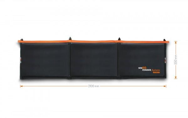 Langfender - Kissenfender von seaEQ mit Protector Mat